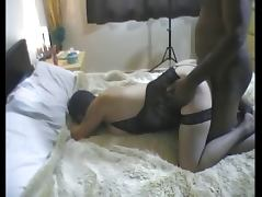 Nice round ass and big tits milf tube porn video