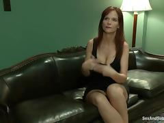 Syren De Mer the hot MILF gets tied up and pounded tube porn video