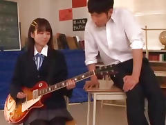 Asuka Hoshino hot school uniform fuck tube porn video