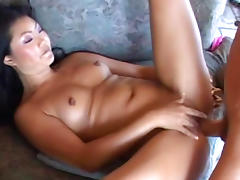 Asian beauty Lucy Lee is riding on the dick tube porn video