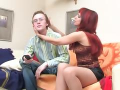 Actionmatures Young guy invited Mature neighbor tube porn video