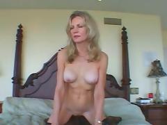 Classy Mature fucks BBC Camaster tube porn video
