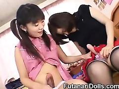 Futanari Babysitters! tube porn video