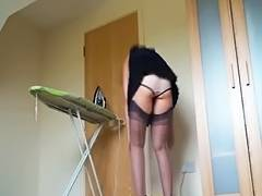 Kirsty Blue Ironing tube porn video