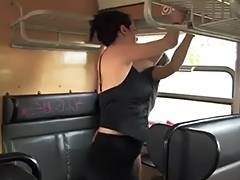 Public Domination in Budapest tube porn video