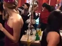 A Wicked Recent Year Party tube porn video
