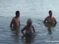 Threesome in adulthood is admirable tube porn video