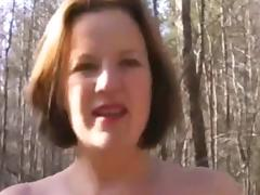 Great couple in the woods. tube porn video