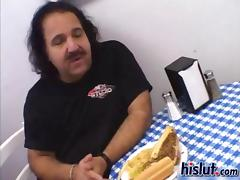 Sammie teamed with Queeny to fuck Ron Jeremy tube porn video