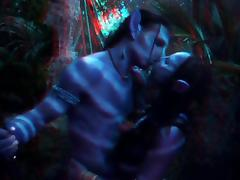 Avatar 3D pornstars fucking in the woods tube porn video