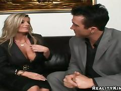 Kristal Summers gets her snatch licked and fucked from behind tube porn video