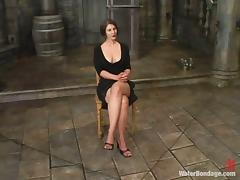 Savanna gets tormented and drowned in wet BDSM clip tube porn video