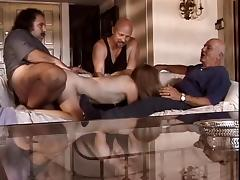 Old guy watches as his wife gets her pussy licked by Ron Jeremy tube porn video