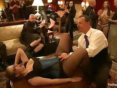 Horny chicks suck dicks and get humiliated at the party tube porn video