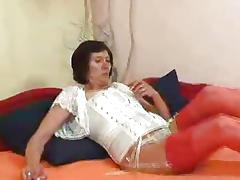 Naked gilf splendid corset tube porn video