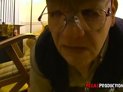 Old Man videos. If you think that old man is not able to please a lewd chick then you're wrong
