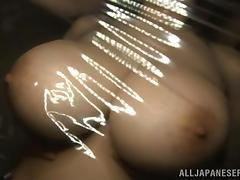 big boobs wrapped in plastic foil tube porn video