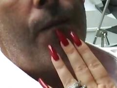 Long nails feeding tube porn video