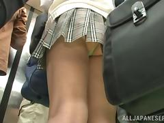 Miniskirt videos. A chick wearing miniskirt is having high chances to be laid tonight