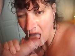 Mature facial tube porn video