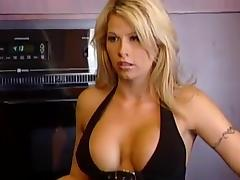 Some insane double penetration for a hot blond babe Kelly Wells tube porn video