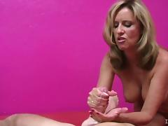 Mother jerks best tube porn video
