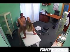 Fake Hospital - Internal creampie medicine tube porn video