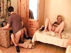 Milf Mom + Boy Threesome 02 From MatureSide tube porn video