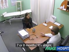 Sexy hotty prevalent generous breasts acquires doctors treatment previous in the air learning that babe can squirt tube porn video