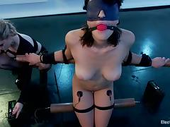 Incumbents Torture for Raven Rockette give Bondage Bull dyke Femdom Video tube porn video