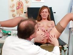 Olga fuck wide will not hear of spectacular doctor tube porn video