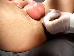 Thorough prostate massage tube porn video