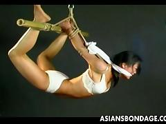 flexible cutie tied and hanged tube porn video