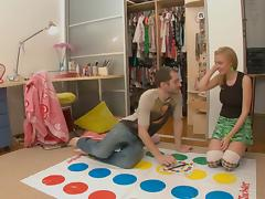 Twister and sex toy for a hot blonde scene 1 tube porn video