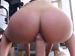 Beauty Anissa Kate great POV anal fucking & cumshot tube porn video