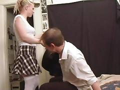 A real dirty sex scene with a horny sex doll tube porn video