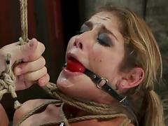 Super tight bondage minutes with Felony tube porn video