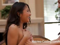Nubiles-Casting Video: Holly Michaels & Sammi Bananas tube porn video