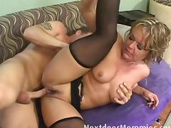 Kelly gets fucked by her stepson tube porn video