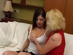 British Lesbian Grannies two part two tube porn video