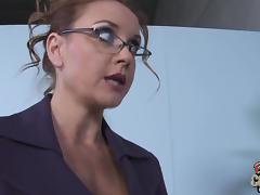 Goddess MILF In Glasses Janet Mason Gets Fucked By Huge Black Cock tube porn video