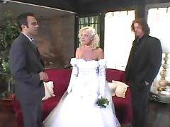 Attractive Missy Monroe Gets DP The Day Of Her Wedding tube porn video