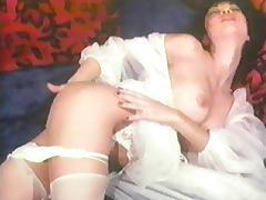 Hong Kong Hookers Masturbation in White Lingerie tube porn video