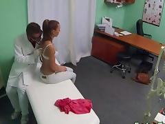 Beautiful patient fucked by doctor tube porn video