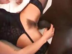 Italian blonde gang fucked in stockings. tube porn video