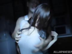 Hot Asian milf Karen Saijyou enjoys a rough rear fucking tube porn video