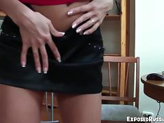 ExposedRussianGFs Video: Candy and Julia tube porn video