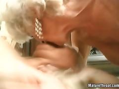 Horny granmdas are getting banged hardly tube porn video