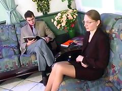 Sexy Russian Milf Fucked In The Waiting Room ! tube porn video