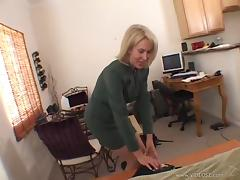 White Cougar Gets Her Hairy Pussy Fucked by a Black Guy tube porn video